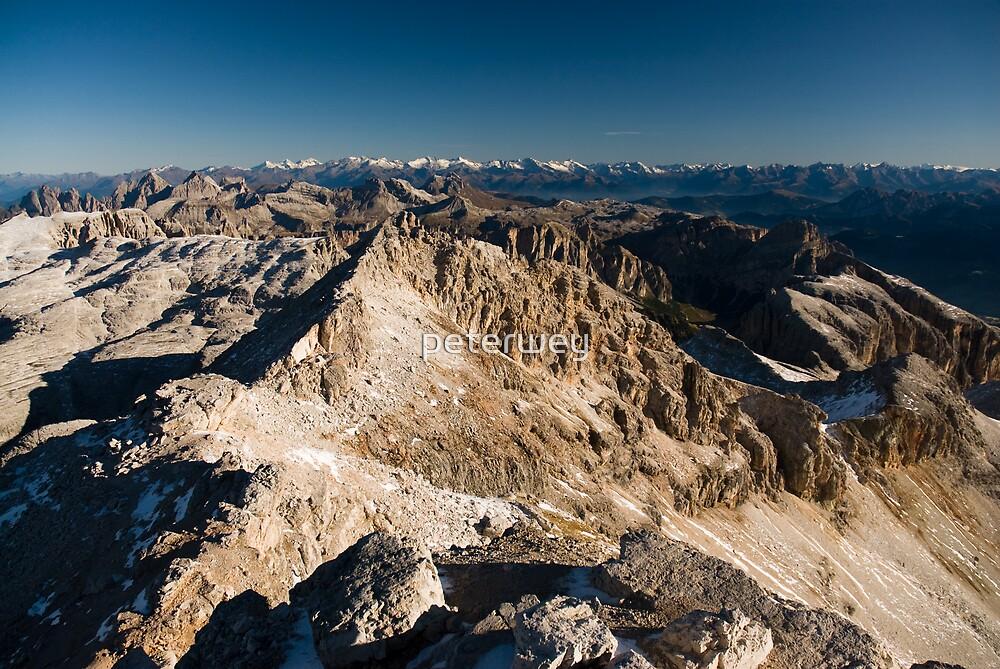 Dolomite peaks by peterwey
