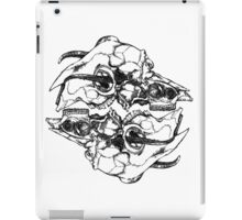 Skulls Mirrored iPad Case/Skin