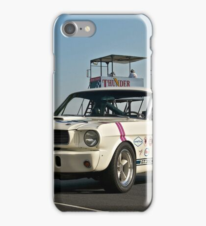 1966 Shelby Mustang G.T. 350 I iPhone Case/Skin