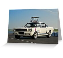 1966 Shelby Mustang G.T. 350 I Greeting Card