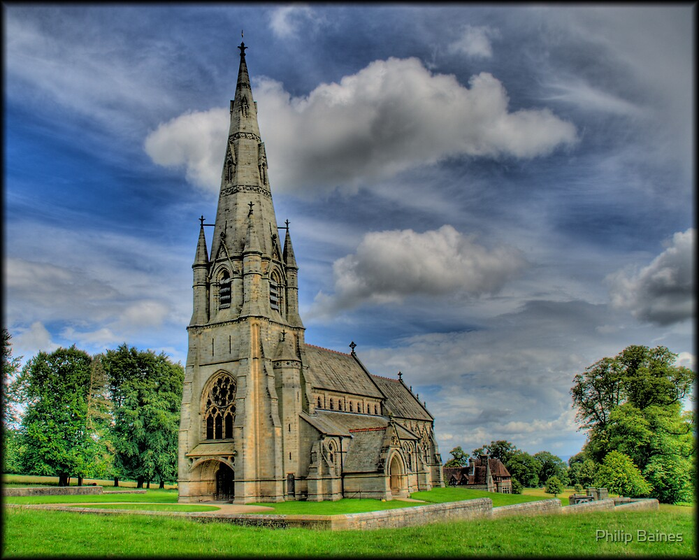 St Mary's Church, Studley by Philip Baines