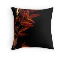 Burnished Autumn Throw Pillow