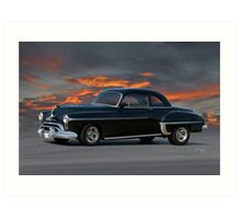 1950 Oldsmobile Rocket 88 Coupe Art Print