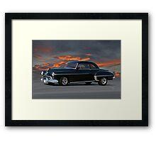 1950 Oldsmobile Rocket 88 Coupe Framed Print