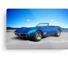 C3 Corvette Stingray II Metal Print