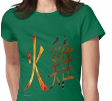 Fire Rooster 1957 Womens Fitted T-Shirt