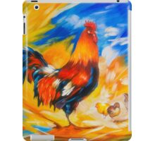 Henhouse host iPad Case/Skin