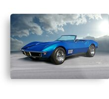 C3 Corvette Stingray I Metal Print