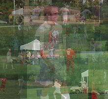 Soccer Collage by JoJOlsen