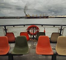 The View from the Ferry - New Orleans, LA by Daniel  Rarela