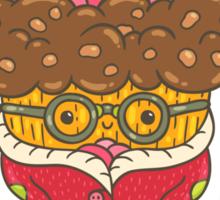 Christmas cupcake  Sticker