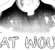 FATHER JACK HACKETT - ECUMENICAL MATTER Sticker