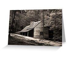 Smoky Mountain Hideaway  Greeting Card