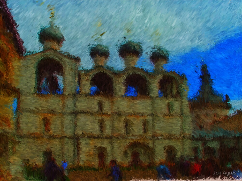 Bell Tower of Rostov the Great's Kremlin by Jon Ayres