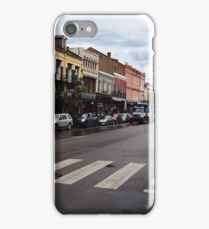 Rain Soaked Dumaine - New Orleans, LA iPhone Case/Skin