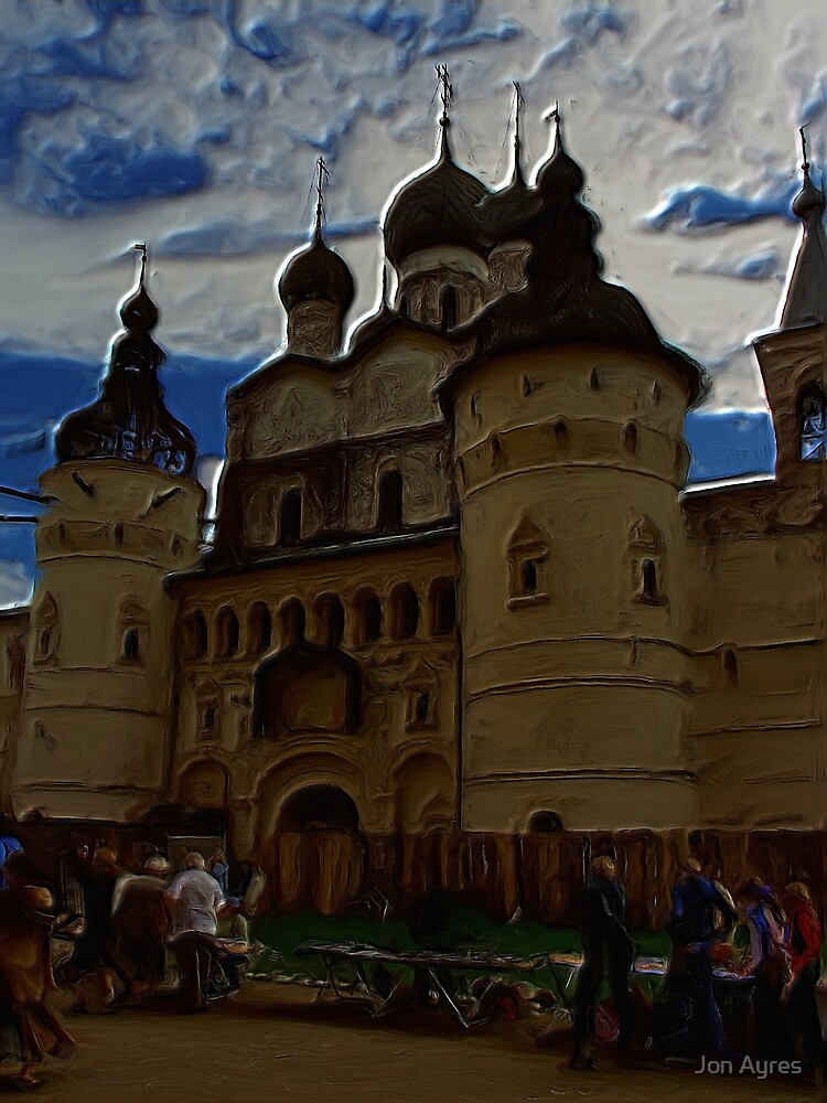 Entrance to Rostov the Great's Kremlin by Jon Ayres