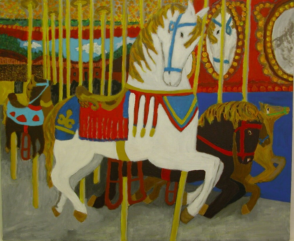 Merry-Go-Round by Mary Collins