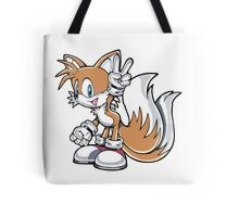 Tails Give a Peace Sign Tote Bag