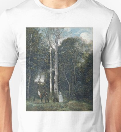 Camille Corot - The Parc Des Lions At Port-Marly Unisex T-Shirt