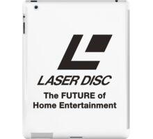 LASERDISC - THE FUTURE iPad Case/Skin