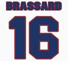 National Hockey player Derick Brassard jersey 16 by imsport