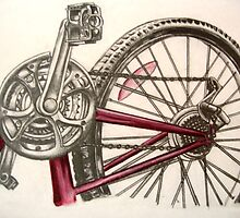 My drawing of a bike by benni6634