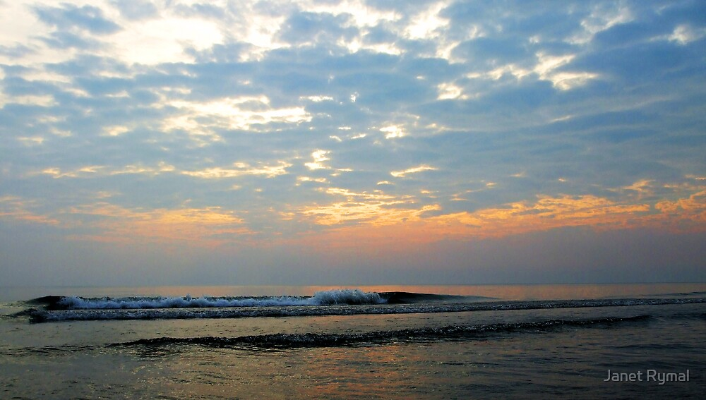 Morning Surf by Janet Rymal