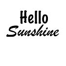 Hello Sunshine by Gina Mieczkowski