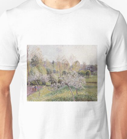 Camille Pissarro - Apple Trees In Blossom, Eragny Unisex T-Shirt