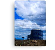 Docklands Canvas Print