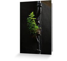 Urban Foliage Greeting Card
