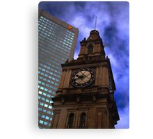 Architecture in Melbourne Canvas Print
