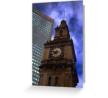 Architecture in Melbourne Greeting Card