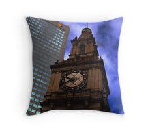 Architecture in Melbourne Throw Pillow