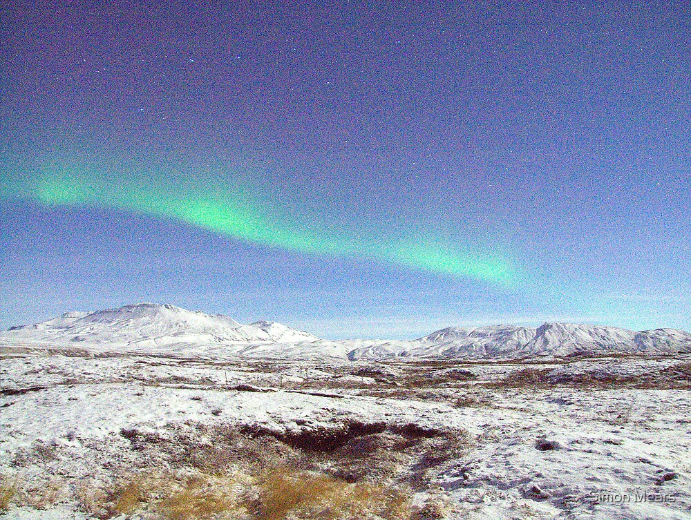The Northern Lights by Simon Mears