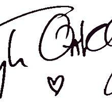 Tyler Oakley - Autograph by micxeymooon