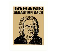 JOHANN SEBASTIAN BACH Art Print