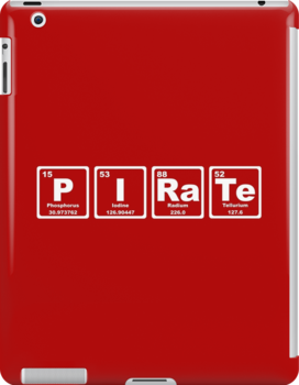 Pirate - Periodic Table by graphix