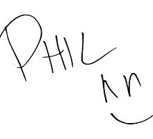 Phil Lester - Autograph by micxeymooon