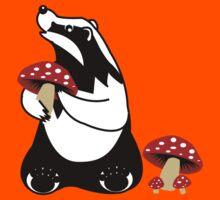 Badger, Badger, Badger, Badger, Mushroom Kids Clothes