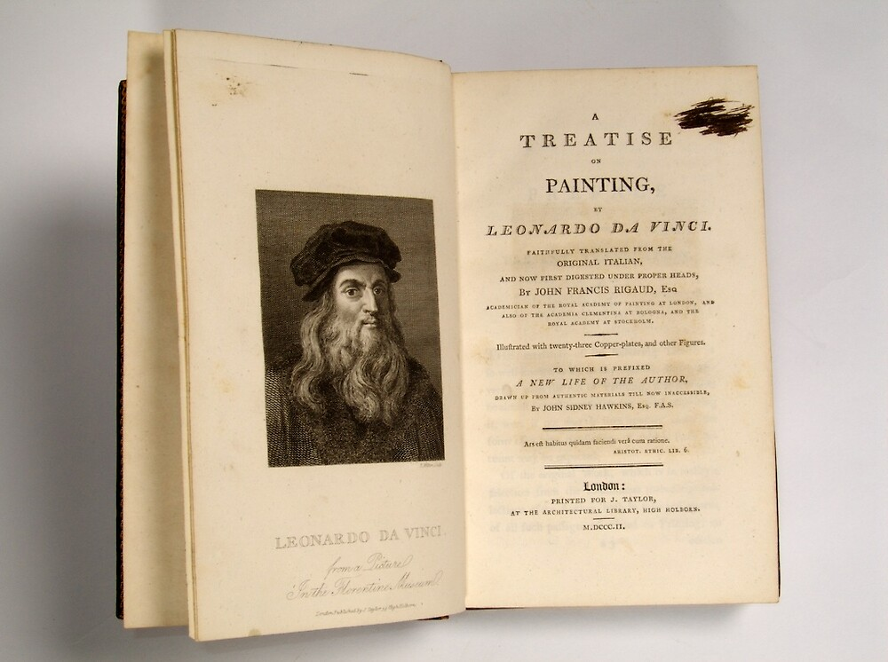 A Treatise on Painting by Leonardo Da Vinci by Publication In The Moment