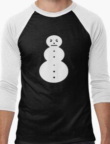 Young Jeezy Snowman Men's Baseball ¾ T-Shirt