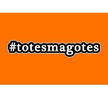Totes Magotes - Hashtag - Black & White Photographic Print