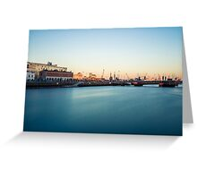 Dublin Docklands Greeting Card