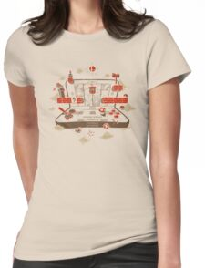 3DSmash! Womens Fitted T-Shirt