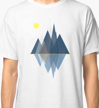 Minimalist Mountains  Classic T-Shirt