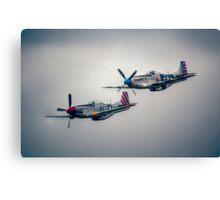 North American P-51 Mustangs Canvas Print