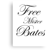Free Mister Bates Metal Print