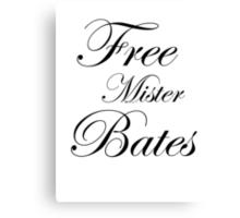 Free Mister Bates Canvas Print