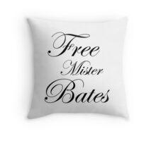Free Mister Bates Throw Pillow